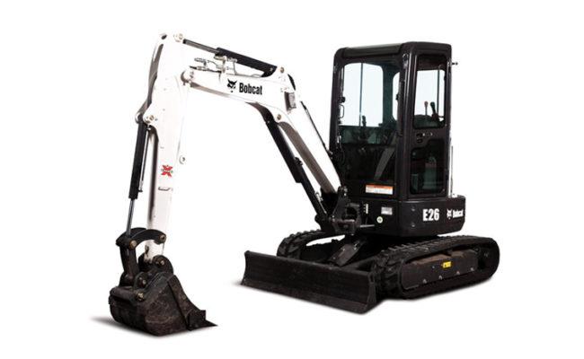 Bobcat E26 Excavators