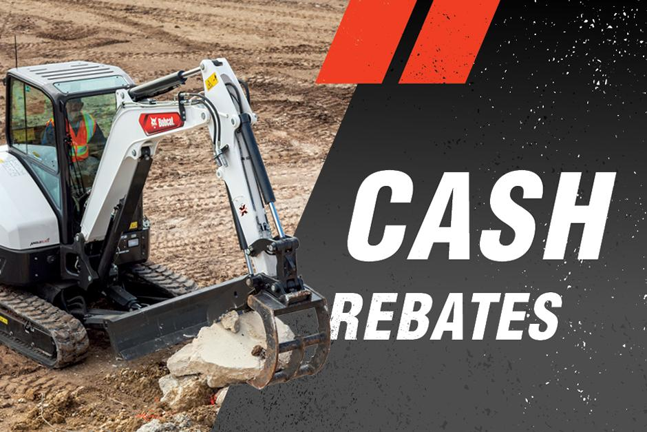 Cash Rebates On New Equipment