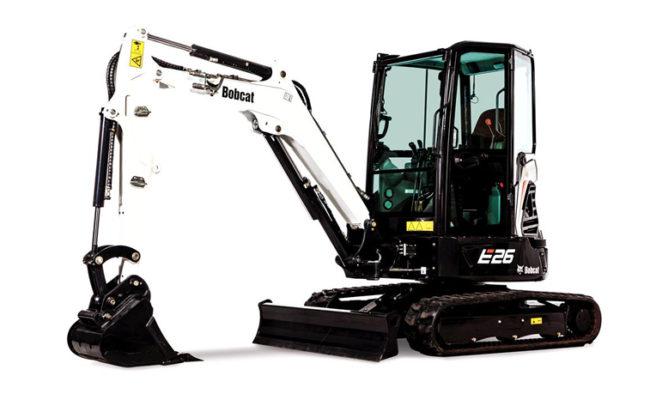 Bobcat E26 R-Series Excavator