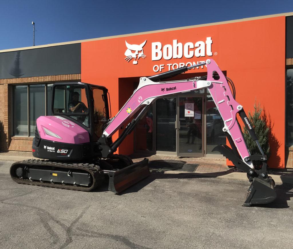 Bobcat E50 CCS Unit