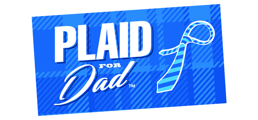 Plaid For Dad Logo