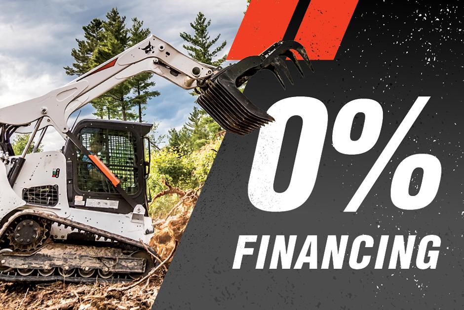 0% Financing on Bobcat Loaders