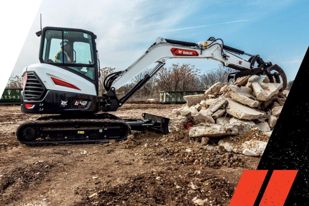 0% On Compact Excavators