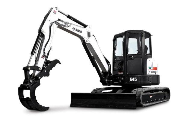 Bobcat E45 Excavator Rental