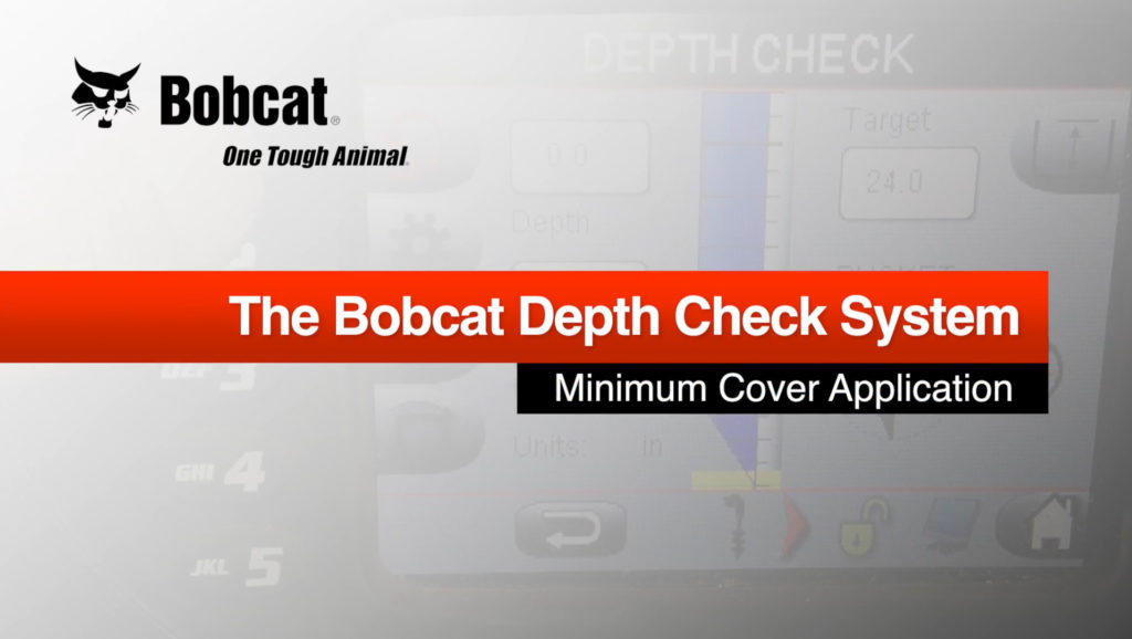 Depth Check: Minimum Cover Application
