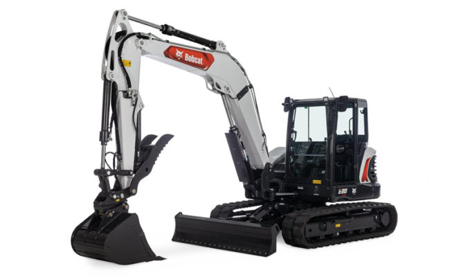 Bobcat E88 Compact Excavator
