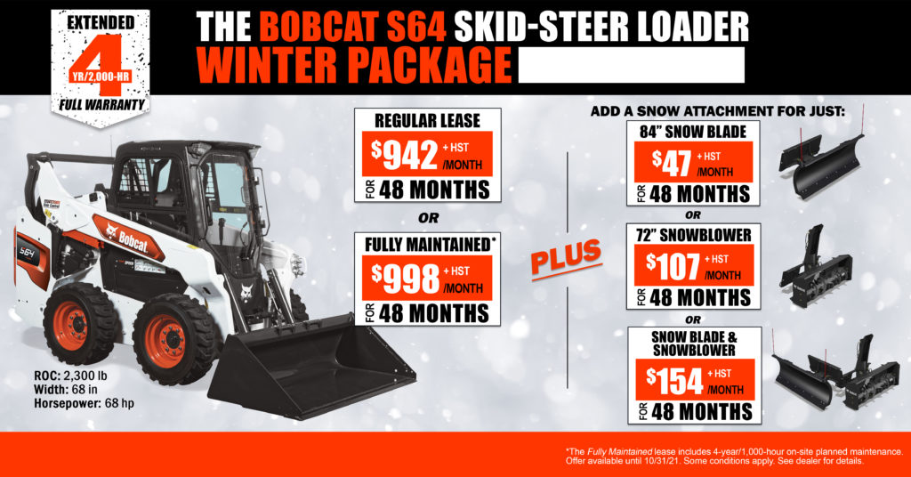 Bobcat S64 Winter Package