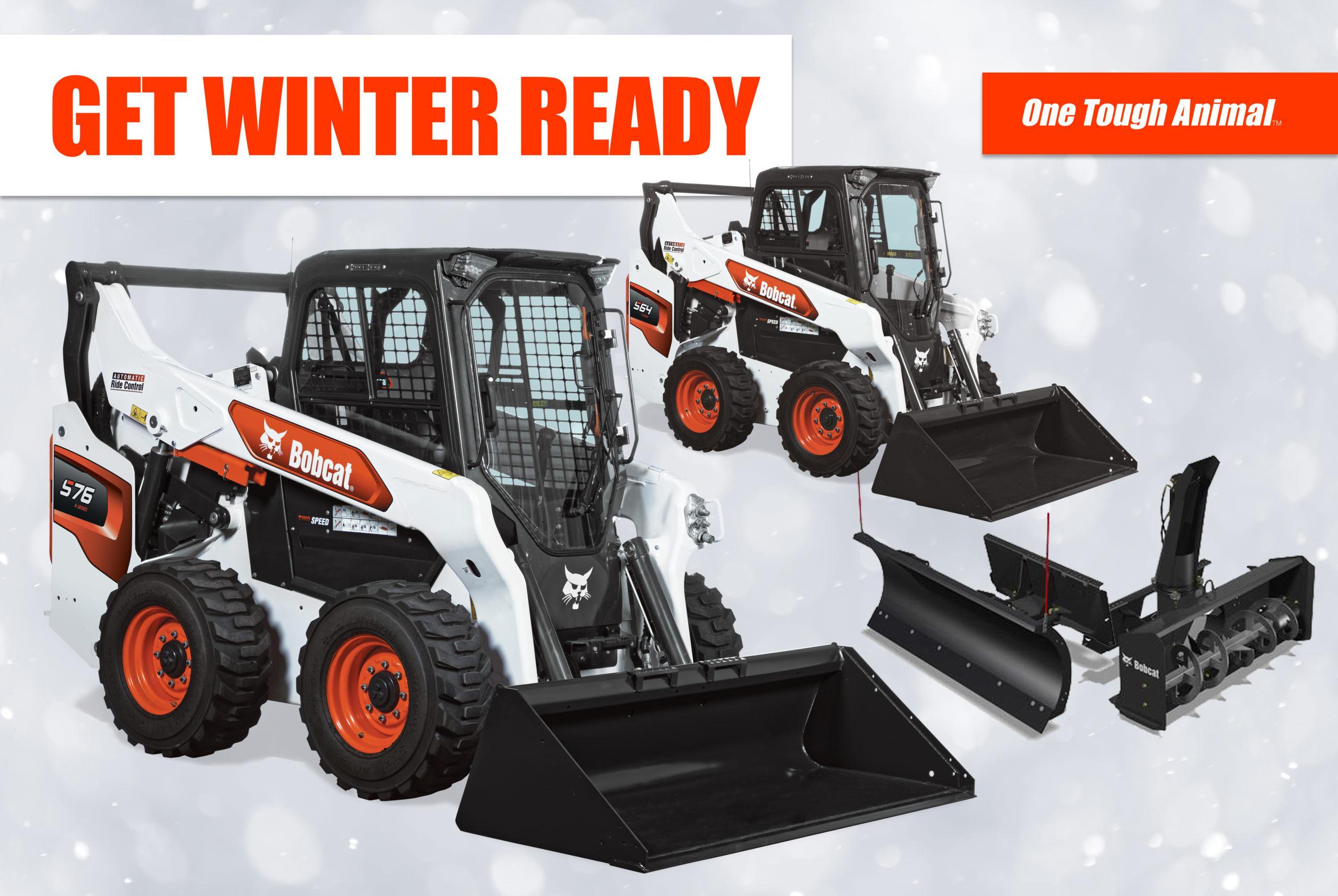 Skid-Steer Loader Winter Packages